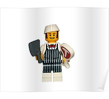 LEGO Butcher Poster