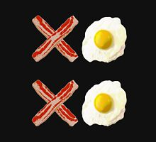 Hugs and Kisses XOXO Bacon and Eggs Unisex T-Shirt
