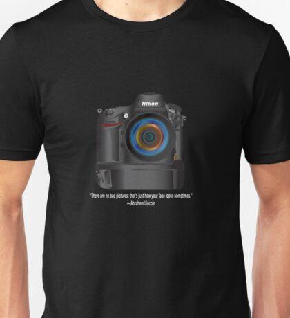 D800 Abraham Lincoln Unisex T-Shirt