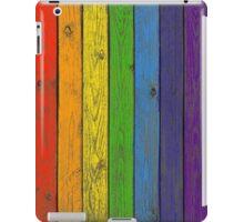 Rainbow fence iPad Case/Skin