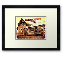 """High Teck Redneck""... prints and products Framed Print"