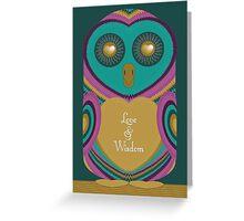 Love & Wisdom Greeting Card