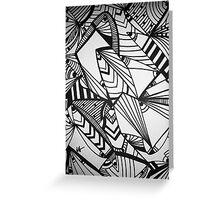 Vertigo Greeting Card