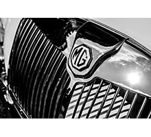 MG Radiator Grill Photographic Print