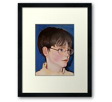 Study:  Nathan Framed Print