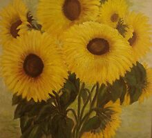 Sunflowers by Phyllis Frameli