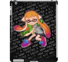 Splatoon Inkling Girl iPad Case/Skin