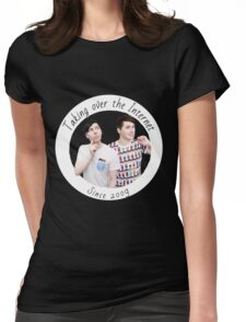 Dan and Phil Internet Take Over Womens Fitted T-Shirt