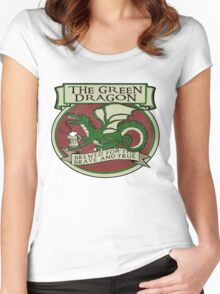 The Green Dragon Women's Fitted Scoop T-Shirt