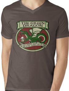 The Green Dragon Mens V-Neck T-Shirt