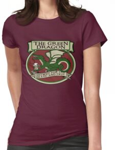 The Green Dragon Womens Fitted T-Shirt