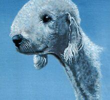 The bedlington terrier  by james thomas richardson