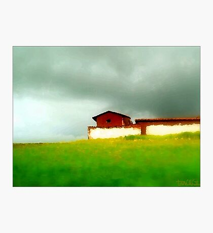 Impression of The Countryside, Peru Photographic Print