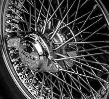 Jaguar Wheel by Andrew Pounder