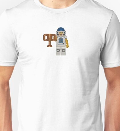 LEGO American Footballer with a Trophy Unisex T-Shirt