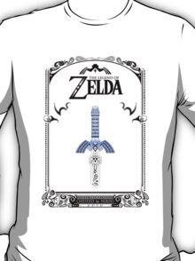 Zelda legend - link Sword doodle T-Shirt