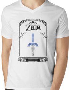 Zelda legend - link Sword doodle Mens V-Neck T-Shirt