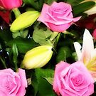 Roses in Pink - Florist Shop by EdsMum