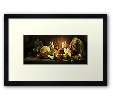 Recipe of eternal youth)) Framed Print