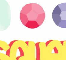The crystal gems! Sticker