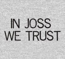 In Joss We Trust Kids Clothes