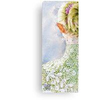 Bride.. Canvas Print