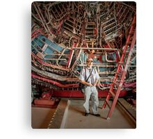 Rick Visiting RHIC Canvas Print