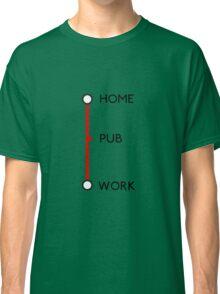 Tube journey Classic T-Shirt
