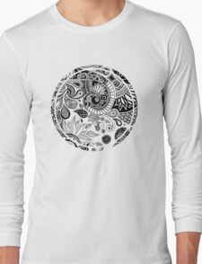 Doodle flowers Long Sleeve T-Shirt