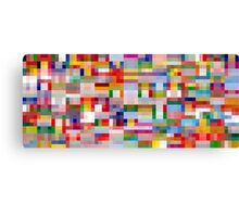 World Flags Canvas Print