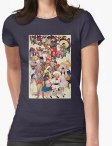 Friends in other Lands Womens Fitted T-Shirt