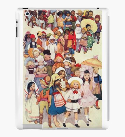 Friends in other Lands iPad Case/Skin