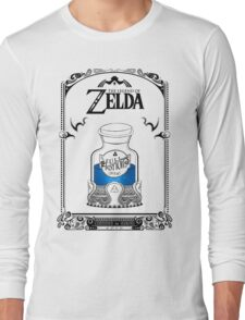 Zelda legend Blue potion Long Sleeve T-Shirt