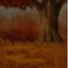 """""""... Down by the Big Oak... at Sundown!""""... for prints and products  by © Bob Hall"""