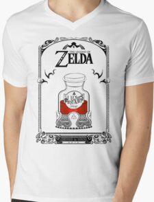 Zelda legend Red potion Mens V-Neck T-Shirt