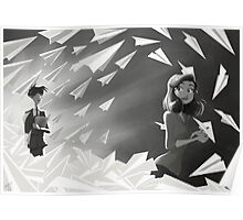 Paperman HeVersion male Poster