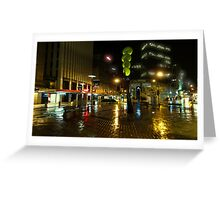 Streets of This City Are Paved With Gold Greeting Card