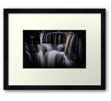 Nell Ayre Foss Waterfall Framed Print