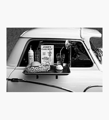 Drive-in Photographic Print