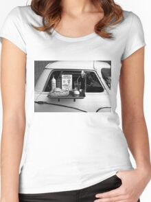Drive-in Women's Fitted Scoop T-Shirt