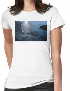 Moonlit Waters Womens Fitted T-Shirt