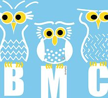 BMC Owls - Light Blue by ArtWithDogBMC