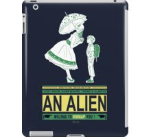 Alien candy iPad Case/Skin