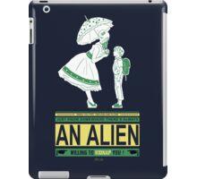Alien candy iPad Case/Skin