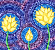 Dreamy Lotus Family by Elspeth McLean