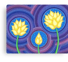 Dreamy Lotus Family Canvas Print