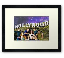 Teen Wolf Hollywood Poster Framed Print