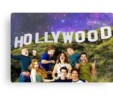 Teen Wolf Hollywood Poster Canvas Print