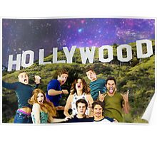 Teen Wolf Hollywood Poster Poster