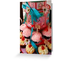 The Cupcake Said 'Eat Me' Greeting Card